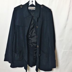Kristen Blake trench/rain coat